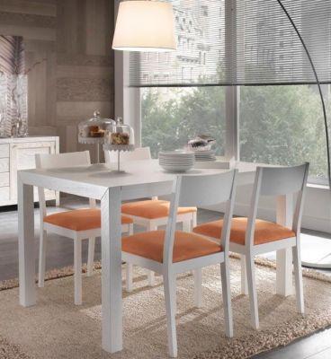 Tavolo moderno in frassino laccato